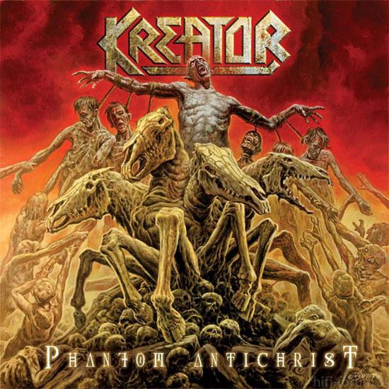 Kreator Phantom Antichrist Album Cover