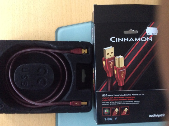 Audioquest Cinnamon USB