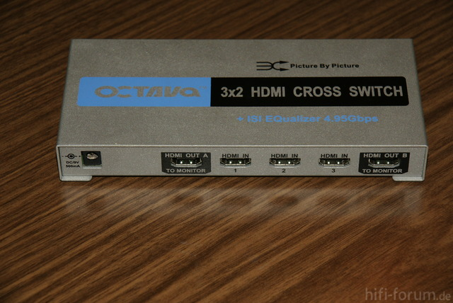Octava 3x2 HDMI Cross Switch