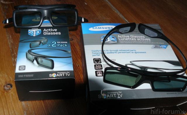 3D Brillen Samsung D-Serie
