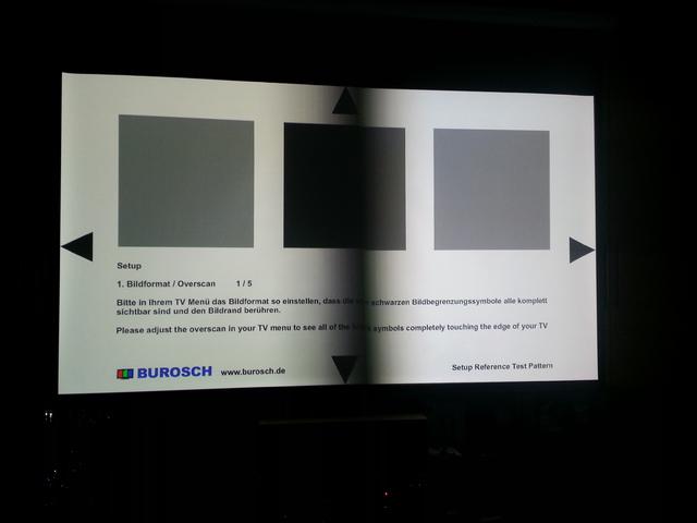 Links der Sony, rechts der Epson