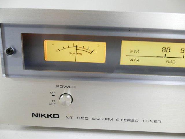 Nikko Tuner NT-390