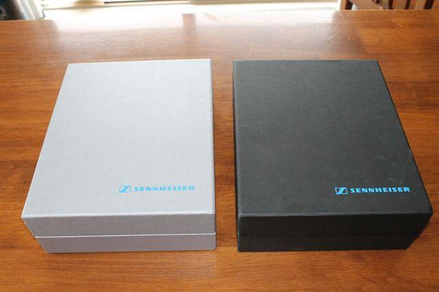 Verpackung HD 650 (alt vs neu)