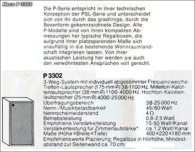 Heco P3302 2