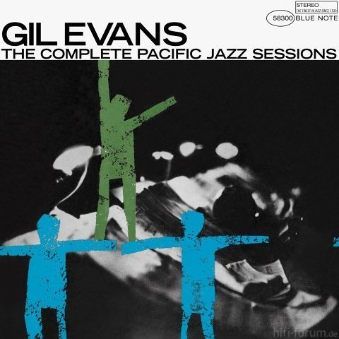 AlbumcoverGilEvans CompletePacificJazzSessions