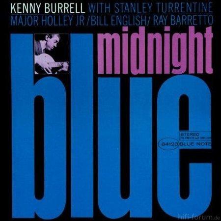 AlbumcoverKennyBurrell MidnightBlue