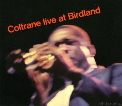 Coltrane Live At Birdland Cover
