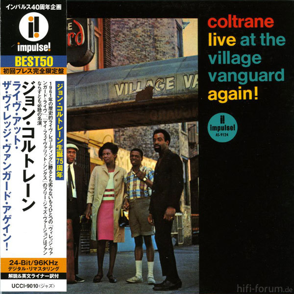 Coltrane Live Village Van Again