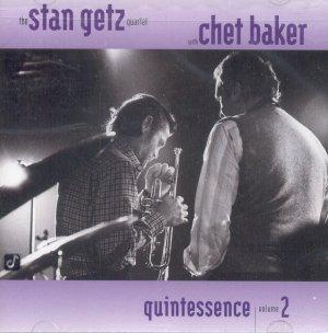 Getz Stan Baker Chet V2 Quintessence 1983 Cd