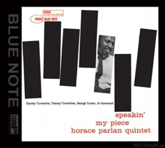 Horace Parlan   Speakin My Piece   Xrcd24 0