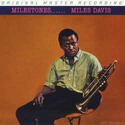 Mfsl 180g Sealed Numbered Lp Miles Davis Milestones 8259 P
