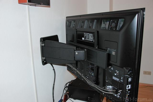 Fernseher In Winkelstellung