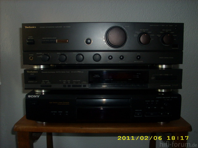 Hifi Anlage Techniscs Sony 002