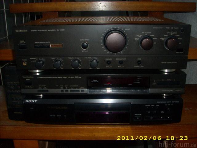 Hifi Anlage Techniscs Sony 004