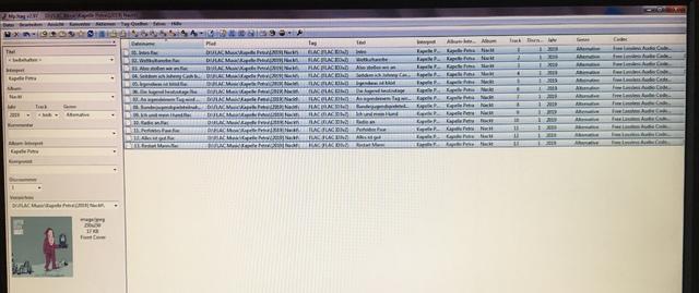 Beispiel Einer MP3tag Datei