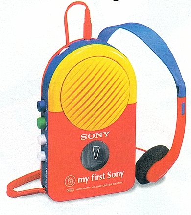 My First Sony WM 3040