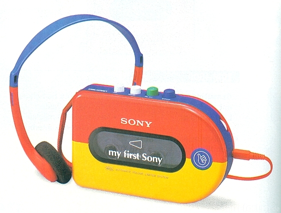 My First Sony WM 3300