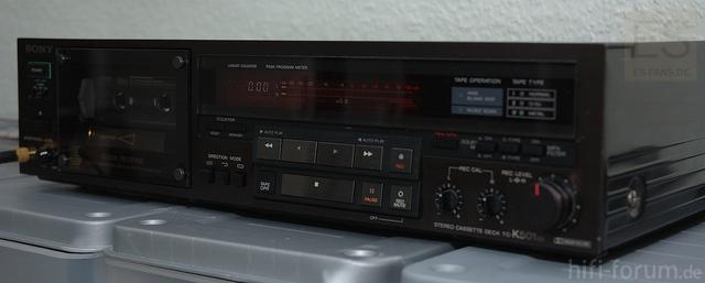 Sony Autoreverse Tapedeck TC-K501ES Mit Wendekopf