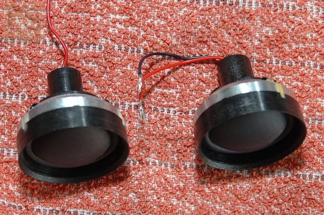 Sony Esprit No. 3 / SS-R70 Reparatur Hochtöner Coax - Vergleich Alter Und Neuer Hochtöner