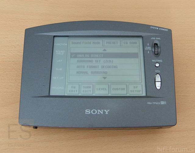 Sony RM-TP503