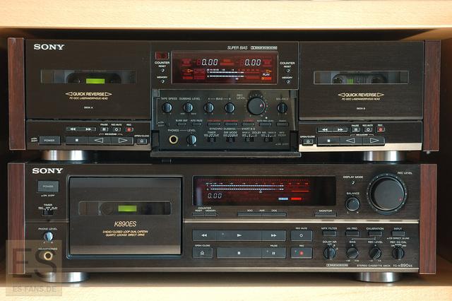 Sony TC-K890ES Und TC-WR99ES - Aufnahme