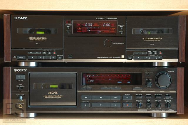 Sony TC-K890ES Und TC-WR99ES