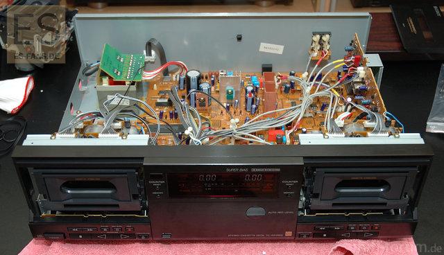 Sony TC-WR99ES Tapedeck (Innenleben)