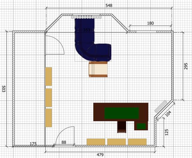 Kaufberatung aufbau 5 1 system ca 1000 im heimkino im for Couch 4m breit