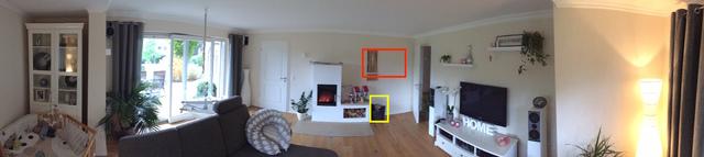 Wohnzimmer Blick Von Sitzposition Aus