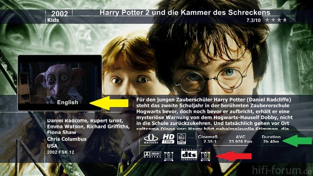 Harry Potter 2 Und Die Kammer Des Schreckens Mkv Sheet
