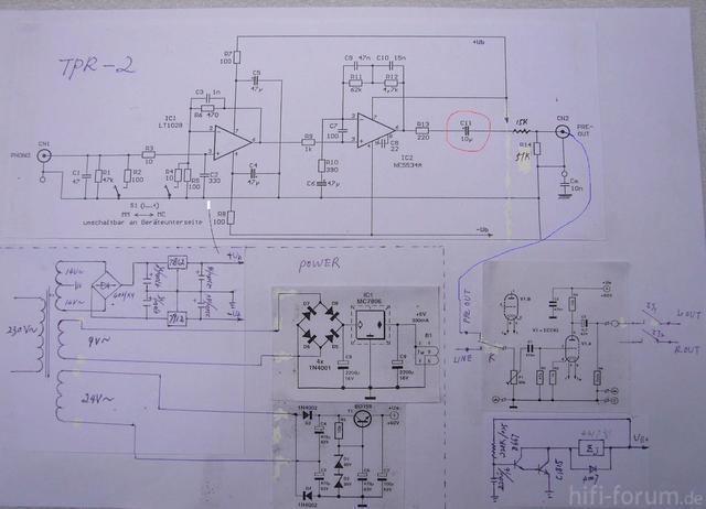 Schaltplan TPR-2