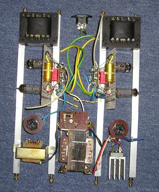 EL 84 S.E. Konstruktion 1