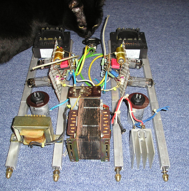 EL84 S.E. Konstruktion 2