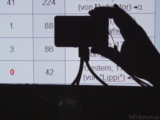 Forumsshot Schaerfe Normalstellung Ringing