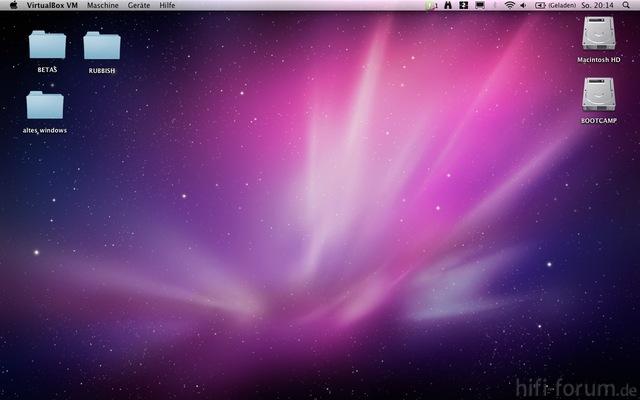 Desktop OS X