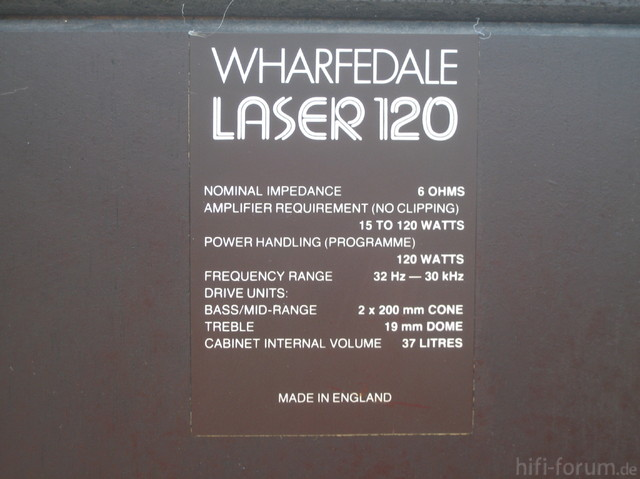 Wharfedale Laser120 011