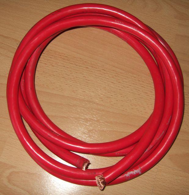 Kabel rot 50qmm