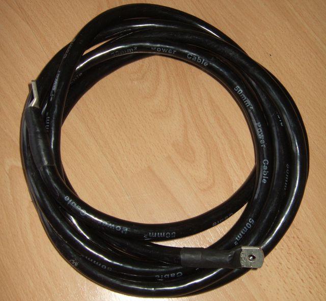 Kabel schwarz 50qmm