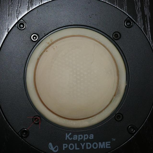 kappa poly dome + tweeter