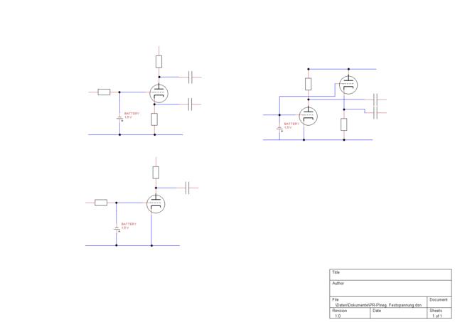 LTP vs Kathodyn und KT77 Gegentaktverstärker, Röhrengeräte - HIFI-FORUM