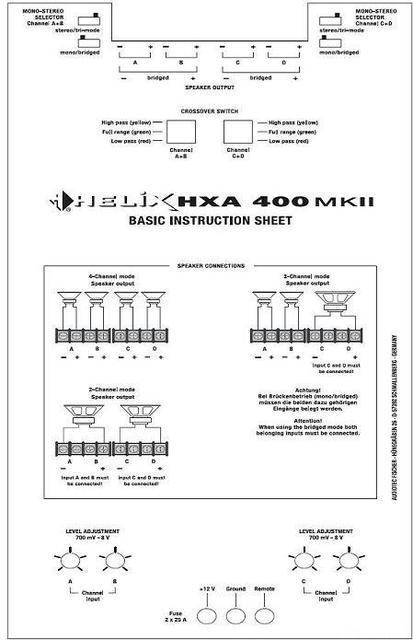 Hxa400mkii 2
