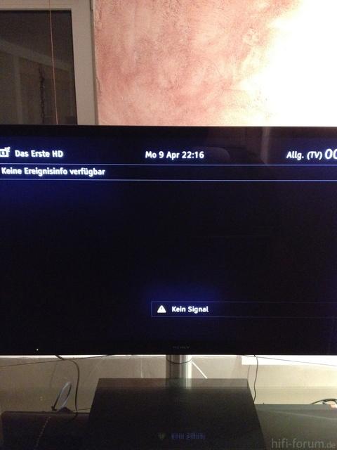 ARD HD / Keine Signal