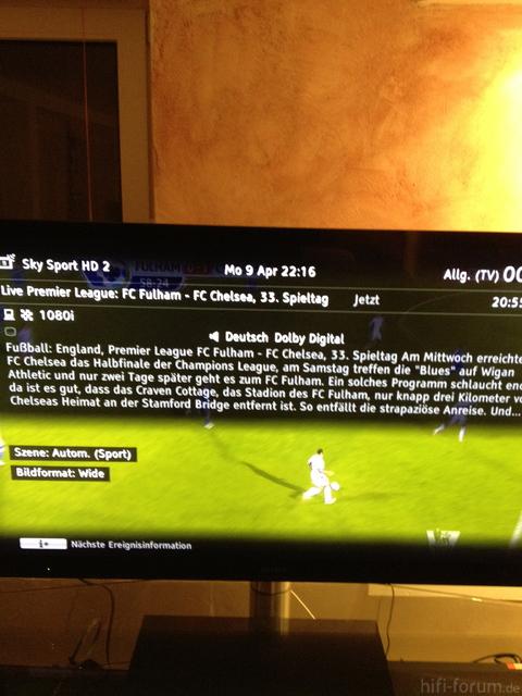 Sky Sport HD2 / Signal!