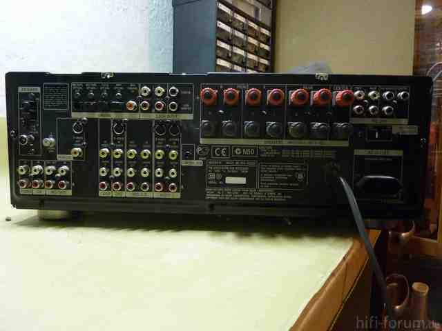 Sony-Receiver  STR-DB830 Defekt,  PROTECTOR Blinkt