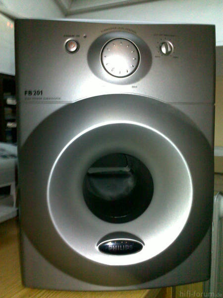 Subwoofer,  Philips, FB201