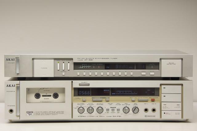 AKAI GX-F51 und AKAI AT-S61