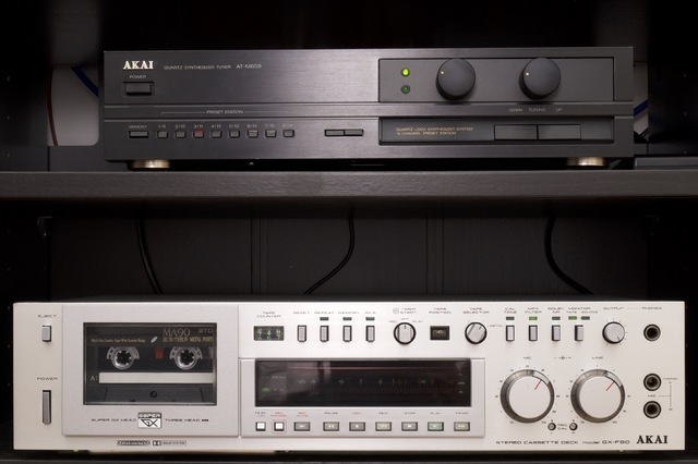 AKAI GX-F90 Und Amplifier Switchbox