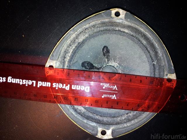 Lautsprecher- Durchmesser