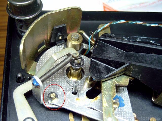 Excenterschraube Abstellschiene Dual 1249