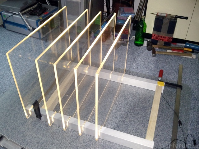 Rack Aufbau-Phase 1-3